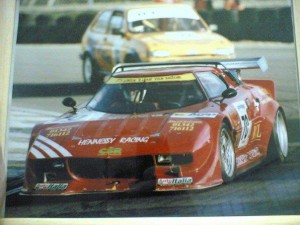 The Stratos (CAE Corse) at the winter series at Brands Hatch